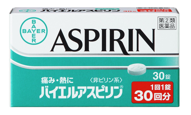 アスピリンのカフェイン含有量